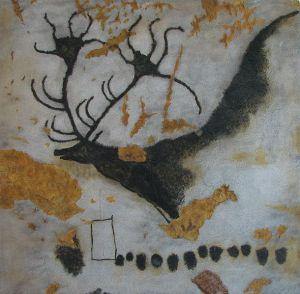Pintura rupestre de la cueva de Lascaux, Francia