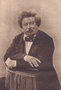 Alexandre Dumas, fotografiado por Félix Nadar