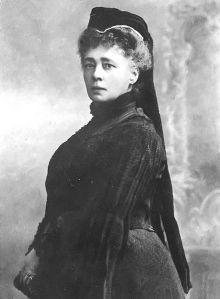 Bertha von Suttner, primer premio Nobel de la Paz (1905)