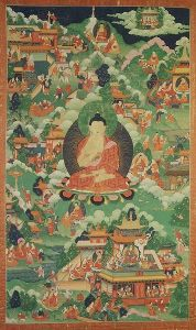 Escenas de la vida de Buddha