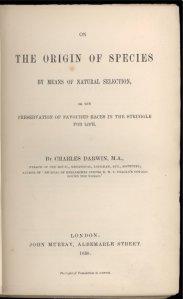 C. Darwin - El Origen de las especies