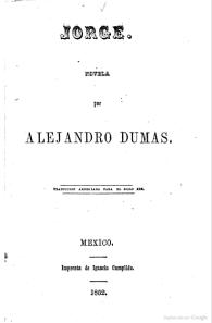 Jorge, editado en México, 1852