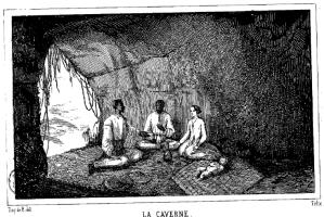 Ilustración de la edición de 1844 de Les Marrons