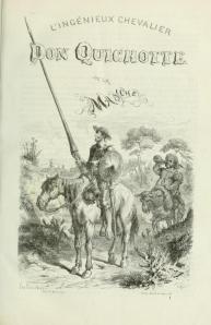 Edición francesa de 1866 del Quijote