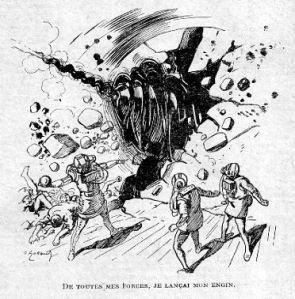 José Moselli – La Fin d'Illa, ilustración de André Galland