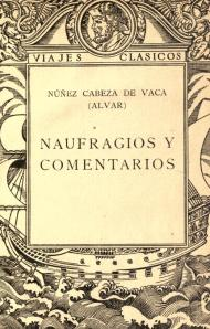 Naufragios, editado por Calpe en 1922