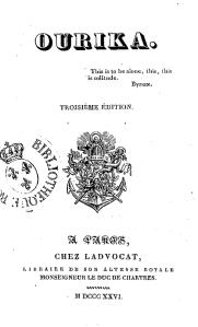 Ourika, 1826