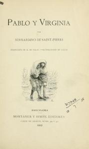 Pablo y Virginia, 1902
