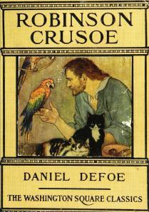 Robinson Crusoe, edición americana de los años 1920