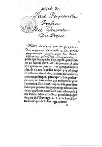 Projet pour rendre la paix perpétuelle en Europe / par l'abbé Castel de Saint-Pierre - 1712