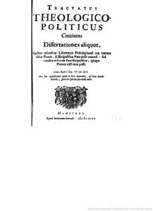 Tractatus theologico-politicus [...] - Hamburgi, apud Henricum Künrath. 1677