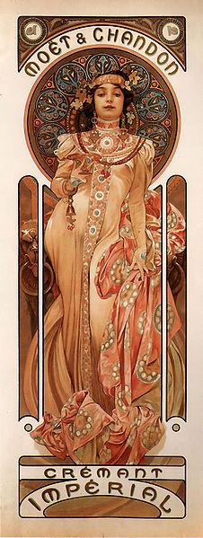 Alfons Mucha - Moët & Chandon, 1899