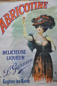 Abricotine - Cartel publicitario de un licor, 190?