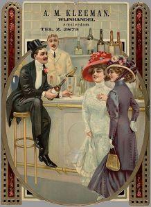 A. M. Kleeman, Amsterdam - Cartel publicitario, 1900-1925