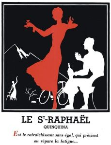 St. Raphaël - Cartel publicitario para un vino aperitivo, 1932