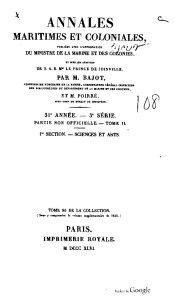 Annales maritimes et coloniales, 1846