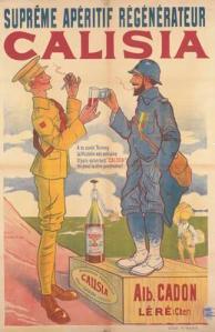Calisia - Cartel publicitario para un vino aperitivo, 1939-1945