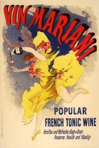 Jules Chéret - Vin Mariani, Cartel Publicitario, 1896-1900