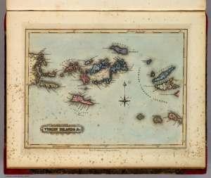 Las Islas Vírgenes, de las que pudó inspirarse Stevenson para La Isla del Tesoro