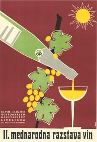 Cartel publicitario esloveno, 1956