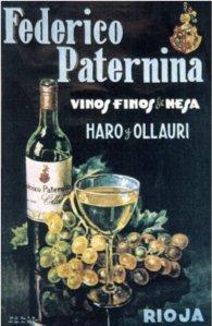 Federico Paternina - Cartel publicitario, final S. XIX - principio S. XX