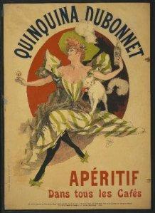 Quinquina-Dubonnet - Cartel publicitario para una marca de aperitivo, 1895