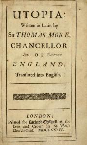 Utopia /Thomas More - London ; Printed for Richard Chiswell ..., 1684