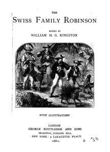 J. Wyss - El Robinson Suizo, 1883