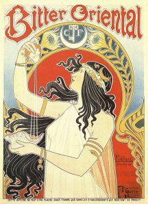 Bitter oriental - Cartel publicitario, 1897