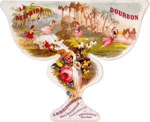 La Sylphide - Publicidad para una marca de whisky, 1860
