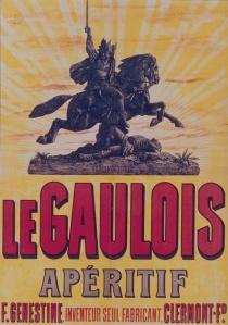 Le Gaulois apéritif F. Genestine - Cartel publicitario, 18?
