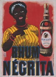 Rhum Negrita - Cartel publicitario, 18?