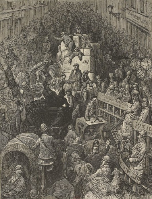Gustave Doré - London, a pilgrimage (1872)
