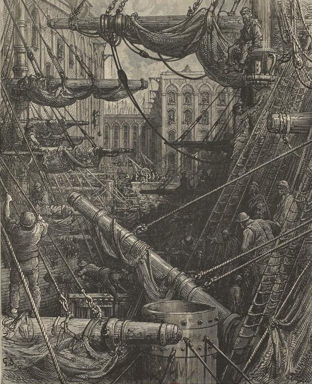 Gustave Doré - London, a pilgrimage (1872)