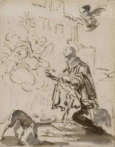 Giovanni Battista Tiepolo - San Pascual (1767)