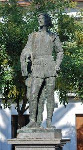 Estatua de Don Juan Tenorio en Sevilla