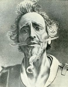 Feodor Chialapin interpretando al Quijote (1910)