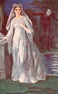 Grace Aguilar – The Vale of Cedars, frontispicio de la edición neoyorquina de 1900