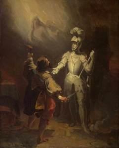 Alexandre-Évariste Fragonard – Don Juan y la estatua del Comandador (S. XIX)