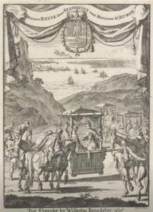 Madame d'Aulnoy - Relación del viaje a España, edición holandesa (1696)