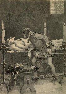 Honoré de Balzac – L'Elixir de longue vie, ilustración de Édouard Toudouze, 1899