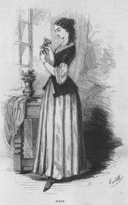 Honoré de Balzac – Les Marana, ilustración de la edición de 1855