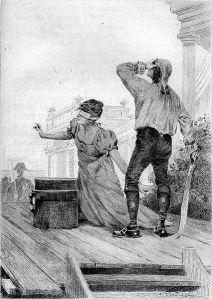 Honoré de Balzac – El Verdugo, ilustración de Édouard Toudouze (1897)