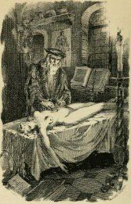 Petrus Borel - Don Andrea Vésalius, l'anatomiste, ilustración de André Hofer (1922)