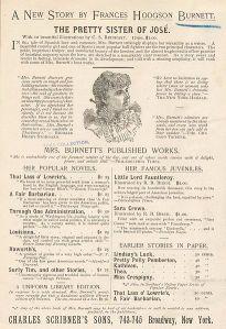 Cartel neoyorquino de propaganda para « The Pretty Sister of José »