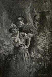 Patrick and Terence Casey – The Wolf-Cub, ilustración de H. Weston Taylor (1918)