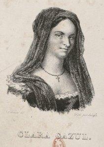 Retrato de Clara Gazul, edición de 1825