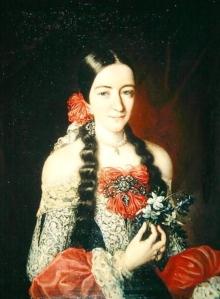 Claudio Coello – Retrato de Nicolasa Manrique de Mendoza y Velasco, 1690-1692
