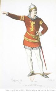 Le Cid de Corneille, ilustración de Geffroy