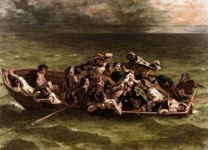 Eugène Delacroix – El Naufragio de Don Juan (1840)